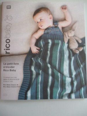 Baby Classic N°048 de Rico Design Coloris Outremer