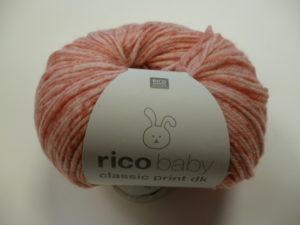 Baby Classic Print N°005 de Rico Design Coloris Rose Spray