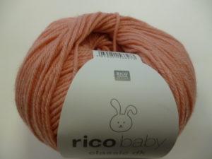 Baby Classic N°057 de Rico Design Coloris Flamant Rose