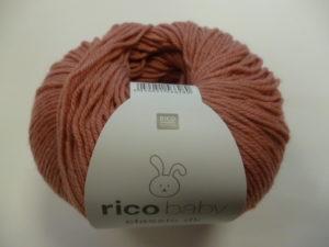 Baby Classic N°058 de Rico Design Coloris Lotus Rose