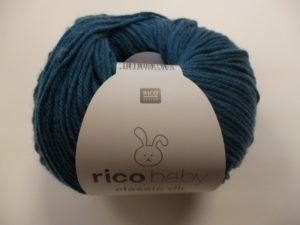 Baby Classic N°059 de Rico Design Coloris Bleu Vert