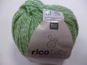 Baby Classic N°029 de Rico Design Coloris Vert Twiste
