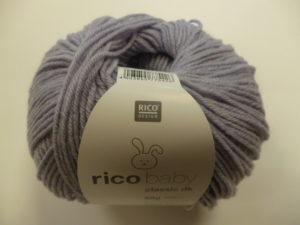 Baby Classic N°007 de Rico Design Coloris Parme