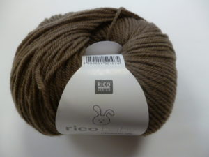 Baby Classic N°037 de Rico Design Coloris Chocolat