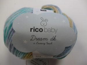 Baby Dream DK N°006 de Rico Design Coloris Turquoise Mix