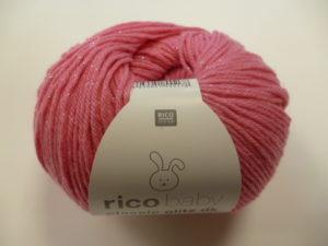 Baby Classic Glitz N°003 de Rico Design Coloris Fuchsia