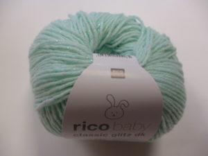 Baby Classic Glitz N°004 de Rico Design Coloris Menthe