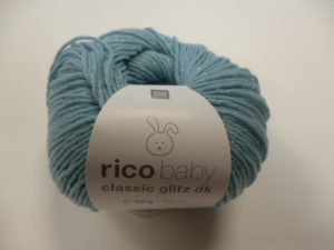Baby Classic Glitz N°005 de Rico Design Coloris Aqua