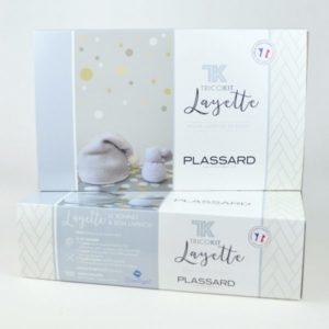 TRICOKIT «Layette» Bonnet à Pompon et Lapinou