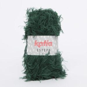 ESTEPA N°110 de KATIA pelote de 100 g coloris Vert Foncé