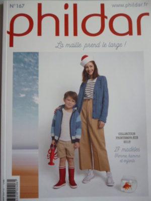 Phildar N°167 «La Maille prend le large !» Printemps – Été 2019