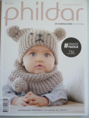 Phildar N°162 «Layette Facile» 26 Modèles Bébé de 3 à 12 Mois