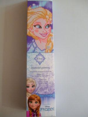 Kit Diamond Painting Reine des Neiges «Elsa» de Vervaco