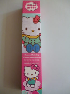 Kit Diamond Painting « Hello Kitty in the snow » de Vervaco
