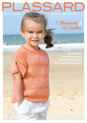 Catalogue Plassard N°149 «Enfants de 0 à 14 Ans»Printemps – Été 2019