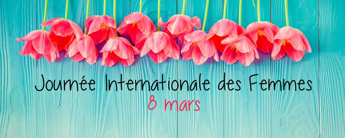 8 Mars Journée Internationale des Droits de la Femme Moins 15% sur tout le site avec le Code Promo «Femme» hors Déstockage Jusqu'à Minuit !!!