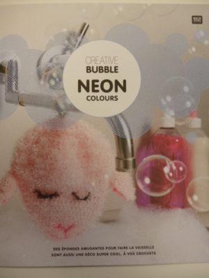 Créative Bubble «NEON» 4 Coloris Fluo de RICO Design Nouveauté 2019