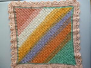 Couverture bébé en PAINT de KATIA coloris multicolore