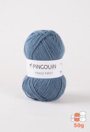 Pingo First de Pingouin sachet de 10 Pelotes de 50gr coloris Denim