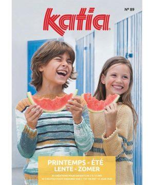 Katia Enfants N°89 Printemps-Été 2018 – 40 Modèles