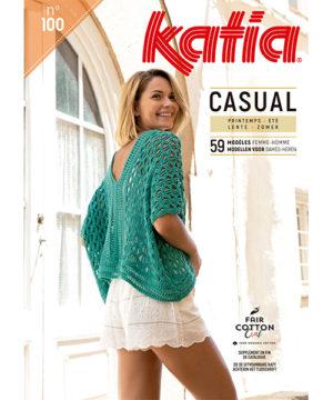 Katia Casual N°100 Printemps-Été 2019 – 59 Modèles
