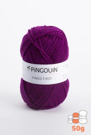 Pingo First de Pingouin sachet de 10 Pelotes de 50gr coloris Violet