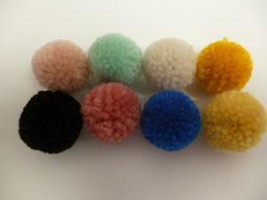 Set de 24 Pompons à laine de Rico Design N°41