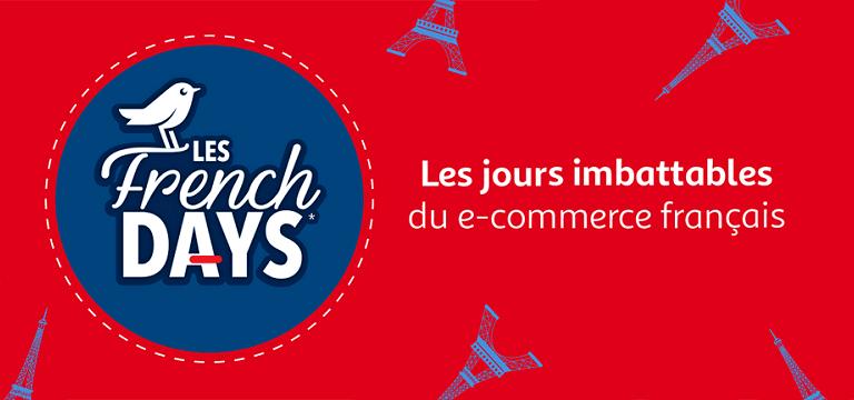 Le Dernier Jour des FRENCH DAYS Jusqu'à Mardi 01 Octobre minuit Moins 10% sur tout le site + Vos Points Fidélités X2 dès 20€ d'achats