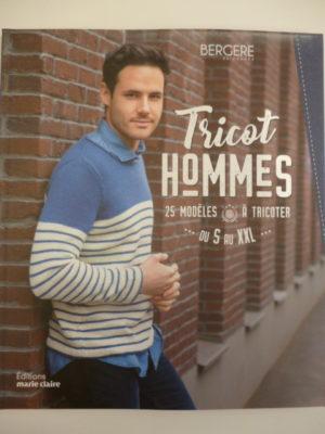 Catalogue «Tricot Hommes» de Bergère de France 25 Modèles