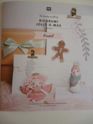 RICORUMI « Jolly x-mas Pastel » de Rico Design Nouveau Catalogue 2019