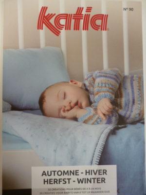 Katia Layette N°90 Automne-Hiver 2019/20 – 50 Créations pour Bébé