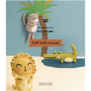 RICORUMI « Wild Wild Animals » de Rico Design Nouveau Catalogue 2019