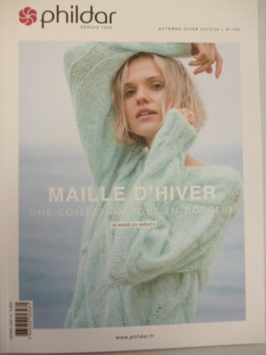 Phildar N°180 « Maille d'Hiver » Femme Automne-Hiver 2019/20