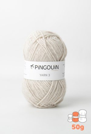 Yarn 3 coloris Beige Chiné