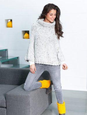Cascade Tweed de PLASSARD Coloris N°10 Gris Perle