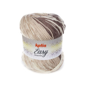 EASY JACQUARD N°302 KATIA pelote 250 g Coloris Multicolore