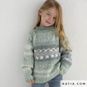 3 modèles en Easy Jacquard de Katia