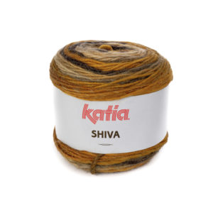 SHIVA N°406 de KATIA pelote 100 g ColorisBeige-Camel-Marron