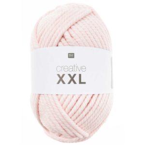 CRÉATIVE XXL de RICO DESIGN coloris N°2 Rose pelote de 1 KG