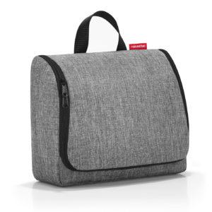 Toiletbag XL «twist silver» Reisenthel