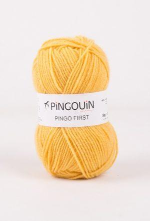 Pingo First de Pingouin sachet de 10 Pelotes de 50gr coloris Moutarde