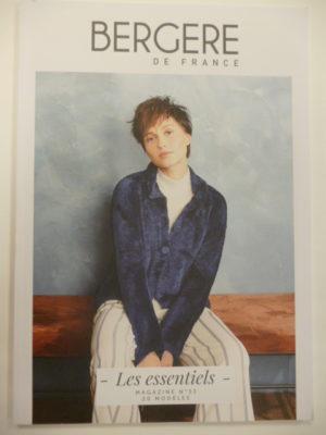 Mag. N°33 «LES ESSENTIELS» de Bergère de France pour Adultes