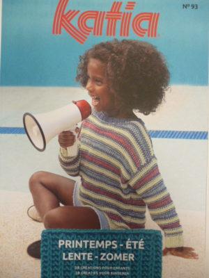 Katia Enfants N°93 Printemps-Été  2020 – 38 Modèles