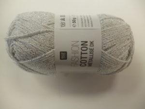 Fashion Cotton Métallisé N° 12 Cristal de RICO DESIGN