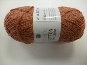 Fashion Cotton Métallisé N°14 Cuivre de RICO DESIGN