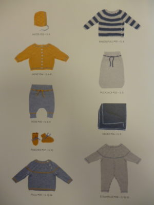 Catalogue LAMANA Baby N°02 – 9 Modèles Layette