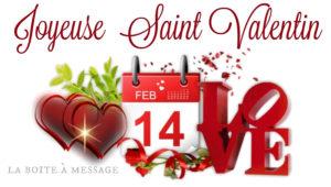 Dernières Heures pour FÊTER la St Valentin avec MOINS 15% sur tout le site hors catalogue !!!