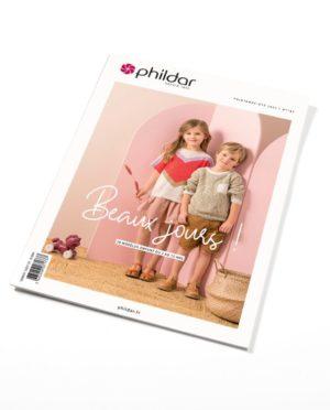 Phildar N°187 «Beaux Jours» – Printemps-été 2020 – 25 Modèles