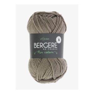 Pur Coton coloris 10505 Argile 100% Coton Bio d'Égypte Nouveauté 2020