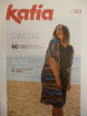 Katia Casual N°103 Printemps-Été 2020 – 60 Modèles